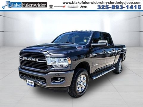 New 2020 RAM 2500 Big Horn With Navigation